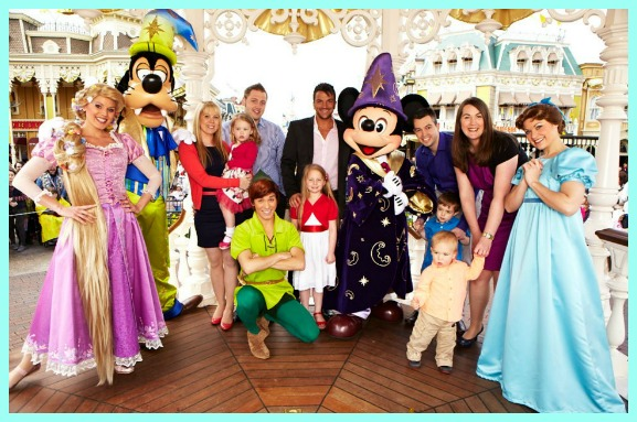 Disneys 20th annivesary commercial with peter andre we entered a competition where you had to send in your personal happy birthday message for disneyland paris 20th anniversary from your little ones bookmarktalkfo Image collections