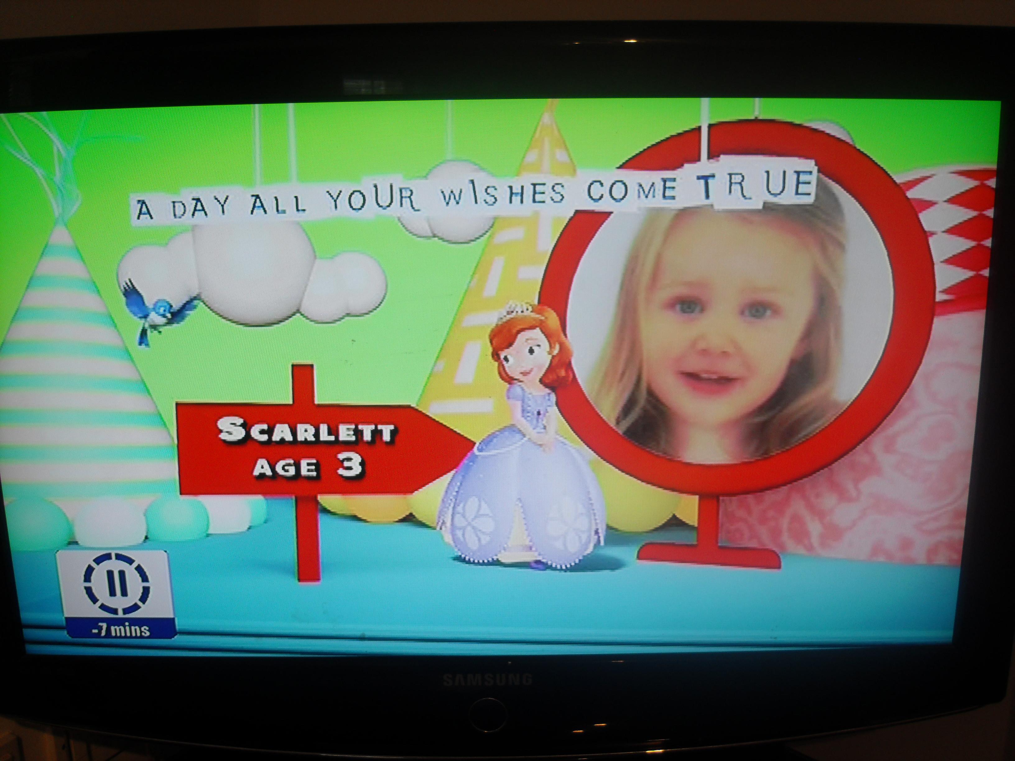 Scarletts Disney Junior Birthday Song